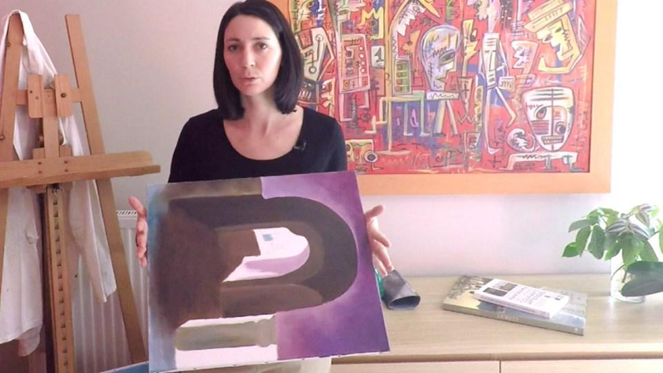 Vous pouvez recycler sans problème toutes toiles déjà peintes à l'eau comme l'acrylique ou la gouache.