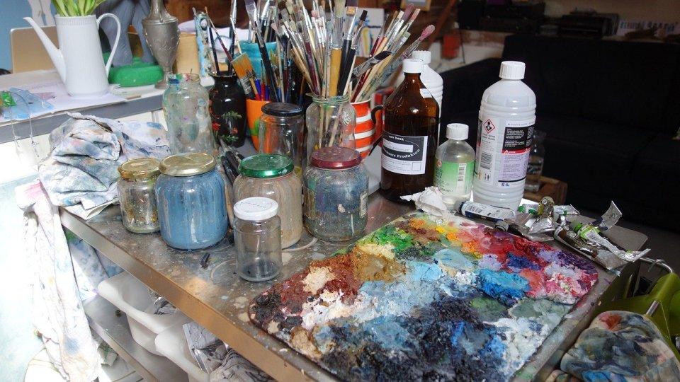 Organiser son plan de travail pour peindre avec plaisir et sérénité