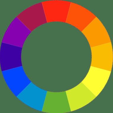 absence du noir sur le cercle chromatique