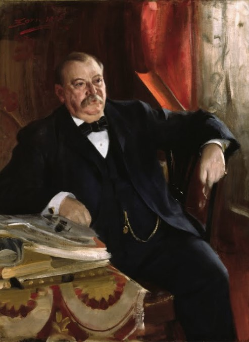 Grover Cleveland - Anders Zorn