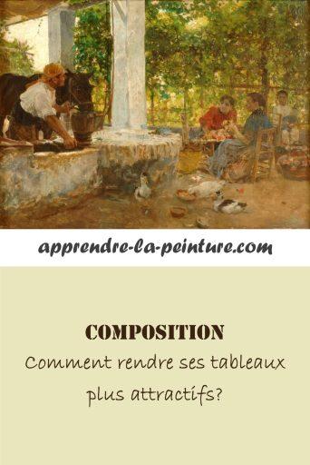 Composition en peinture comment rendre ses tableaux plus attractifs?