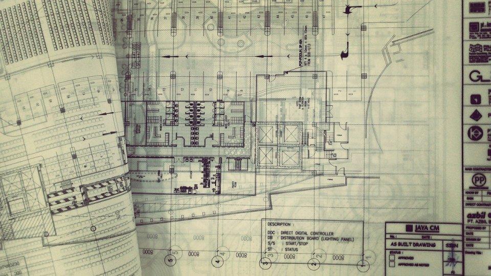 méthode simple de l'architecte la mise aux carreaux pour un dessin parfait