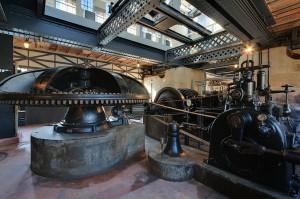Moteur hydraulique du Moulin Saulnier