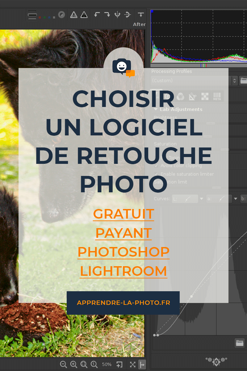 Choisir un logiciel de retouche photo : gratuit ou payant ? Lightroom, Photoshop, … ?