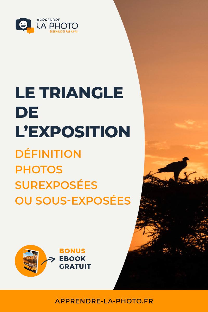 Le triangle de l'exposition : définition, photos surexposées ou sous-exposées, …