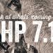 PHP 7.1 : Bilan un an après la sortie de PHP 7.0 4