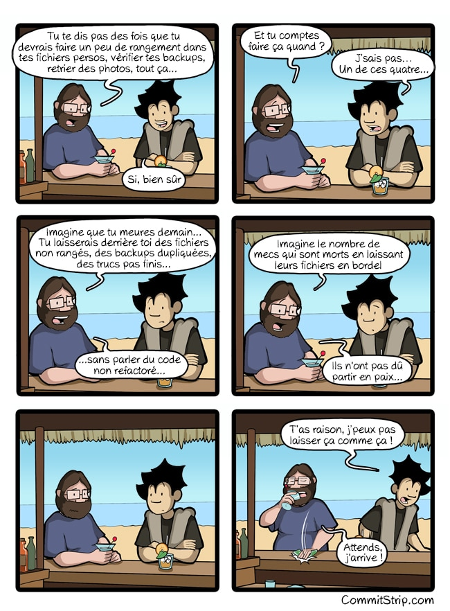commitstrip dette technique