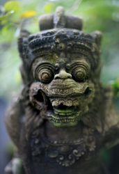 Good morning Bali- Statue