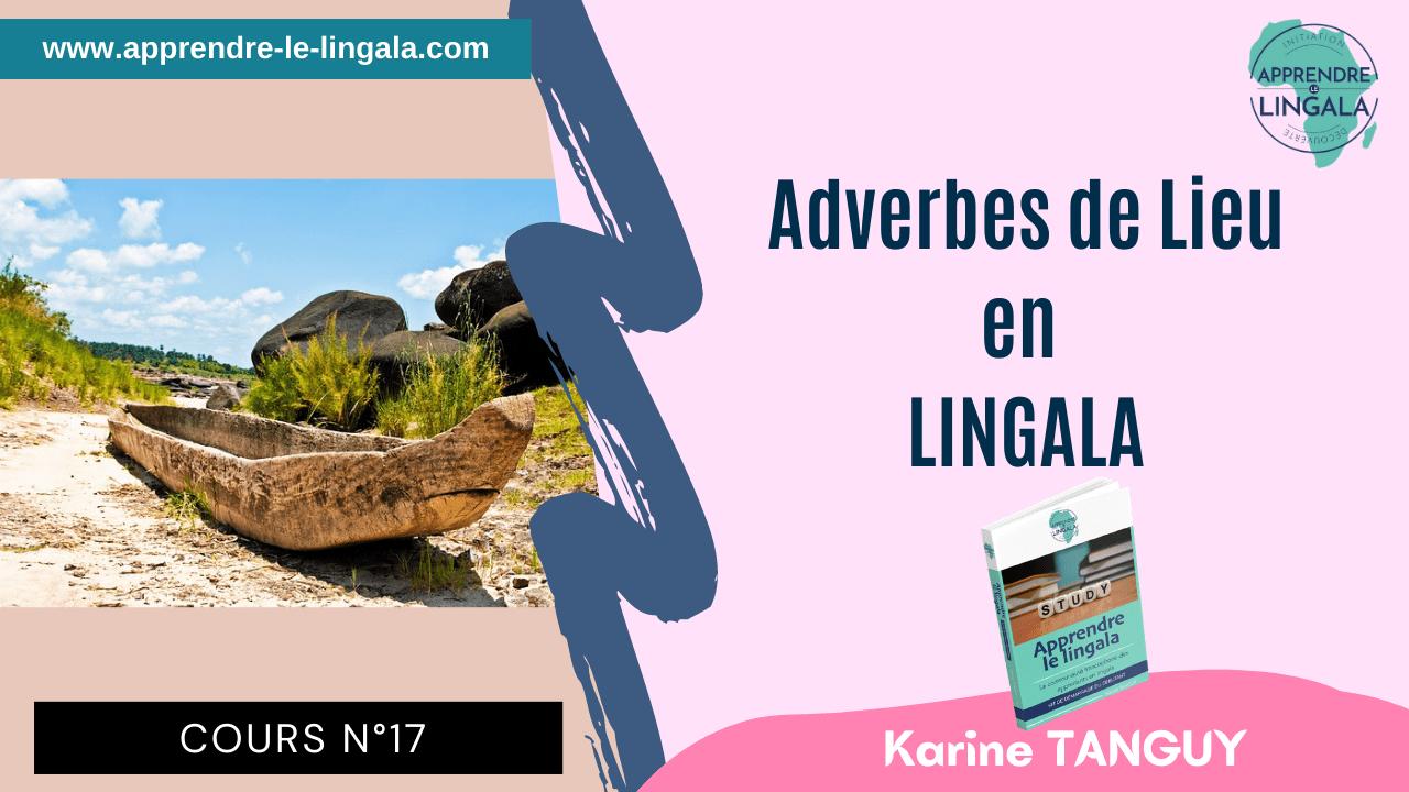 Cours de lingala #17 – Adverbes de lieu