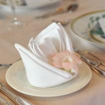 manipulation des serviettes serviettes table recevoir invité style chic galanterie courtoise bienséance étiquette protocoel revecoir dîner déjeuner savoir-vivre