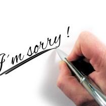 présenter ses excuses excuses pardon regrets sorry demande pardon lettre officielle letre amour demander excuses excuser