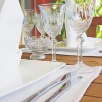 Comment bien placer les verres à table en 5 leçons ?
