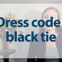 cravate-noire-black-tie protocole savoir-vivre cravate noire étiquetet bristol invitation smoking dress code expert coach bonnes manières