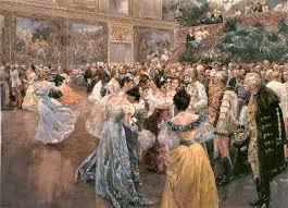 comment on invite bal danseuse époque victorienne 19e siècle danseur réception comment danser robe