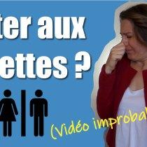 Pouvez-vous péter aux toilettes ? (la vidéo improbable sur cette chaîne!)