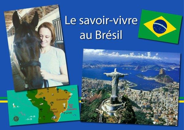 savoir-vivre au Brésil