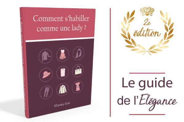 ebook comment s'habiller comme une lady guide édition 2