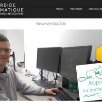 alexandre iturbide informatique basque informaticien site blog professionnel