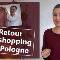 Retour de shopping en Pologne : ce que j'ai ramené dans ma valise