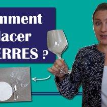 Comment bien placer les verres à table ? (tradition française et anglaise)