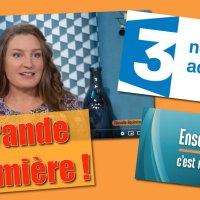 Grande première : Interview sur France 3 ! Thème : l'art de recevoir