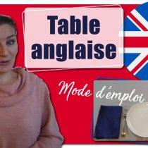 Comment dresser une table à l'anglaise ? Placement des couverts et alignement des verres ?