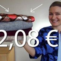 Retour de shopping : 4 vêtements élégants pour 2,08 € --- C'est possible !