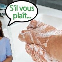 Comment demander à vos invités de se laver les mains avant de passer à table ?