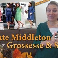Kate Middleton : enceinte et maman - 21 règles inconnues pour un style de Lady