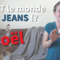 Tout le monde en jeans à Noël !!! - Devez-vous porter une robe et un costume malgré ce contraste ?