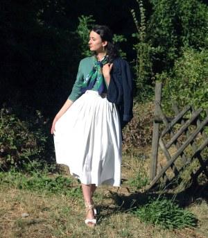 Pascaline, En toutes élégances, vintage chic, élégance vintage, comment s'habiller avec modestie élégance lady élégance modest fashion france