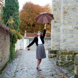 Pascaline, En toutes élégances, vintage chic, élégance vintage, comment s'habiller avec modestie élégance lady élégance modest fashion