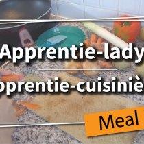 Meal prep - Apprentie-lady en cuisine, épisode 1