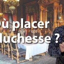 Plan de table : duchesse, amiral, prêtre, veuve bourgeoise de 23 ans ?
