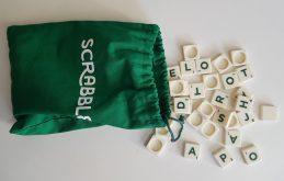 Lettres et sac de rangement