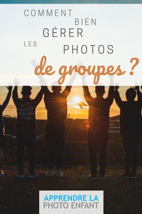 gérer les photos de groupe