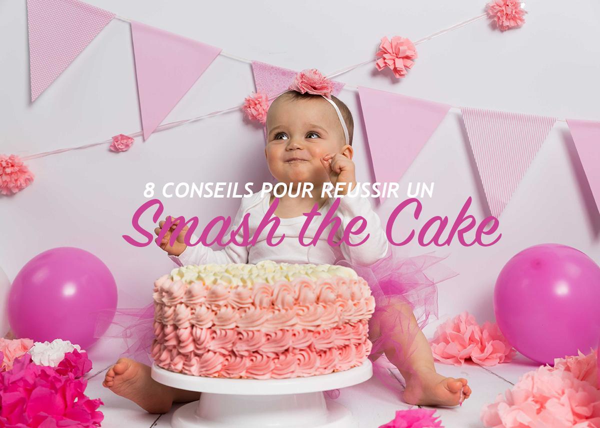 8 Conseils pour réussir une séance photo Smash the Cake