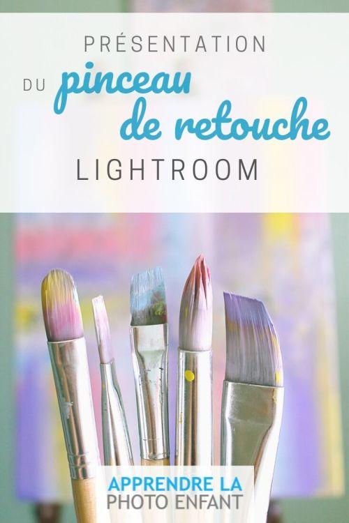 Pinceau de retouche Lightroom