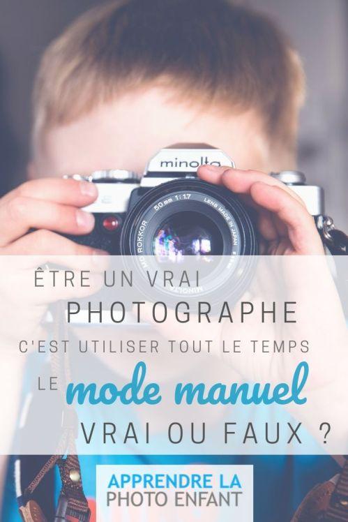 un vrai photographe