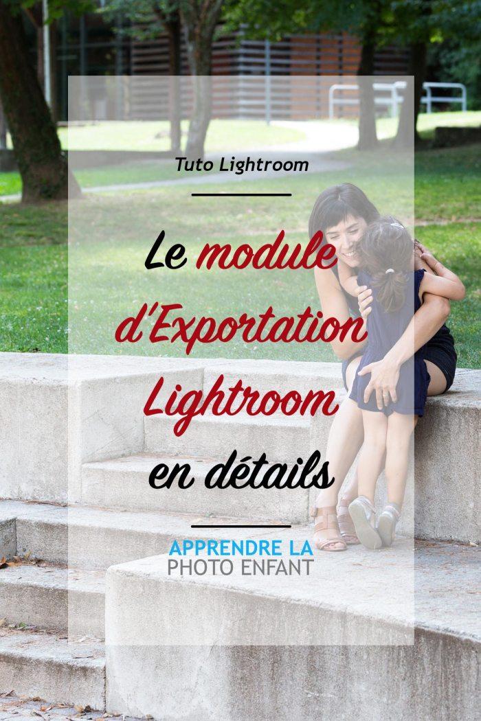 exportation lightroom