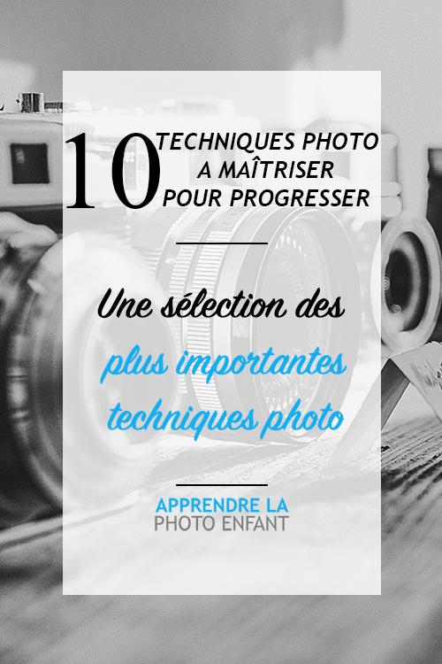 techniques photo