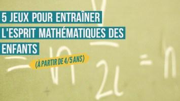 jeux mathématiques enfants