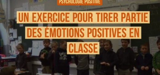 la psychologie positive en classe