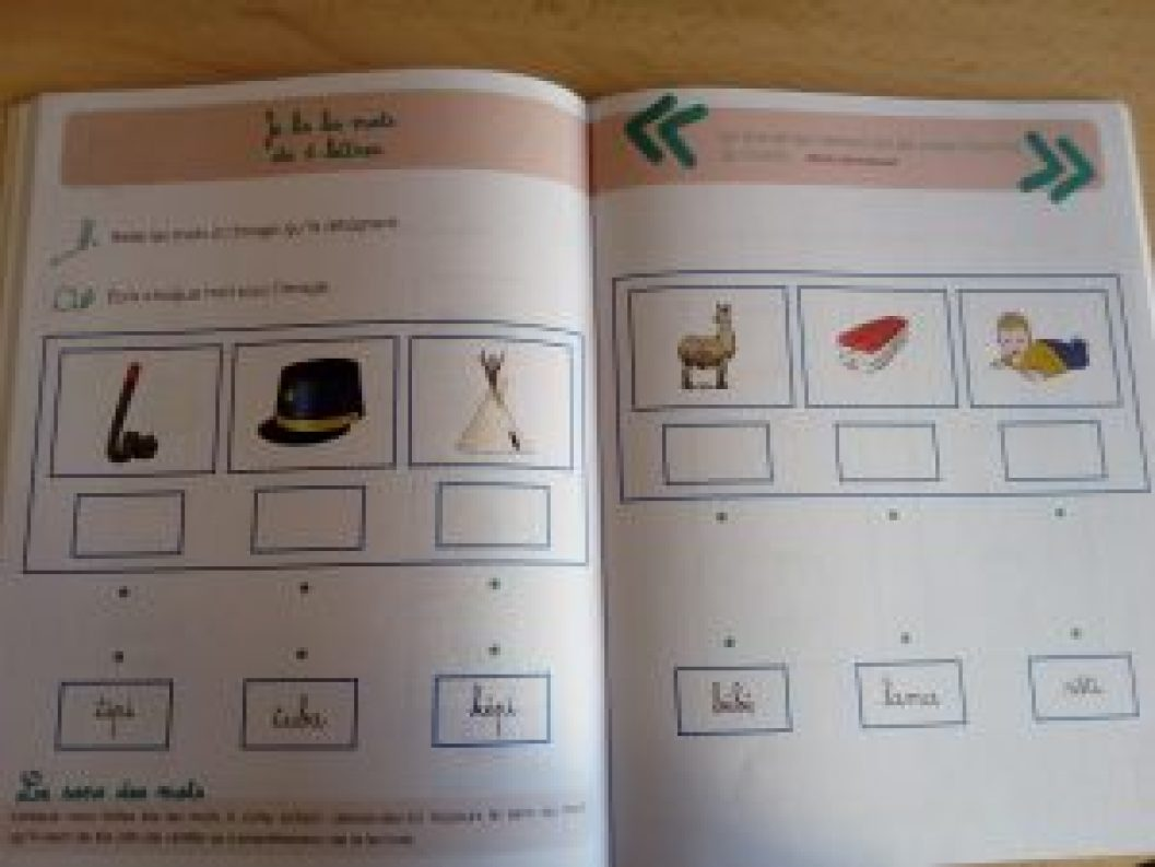 petits cahiers montessori apprendre à lire