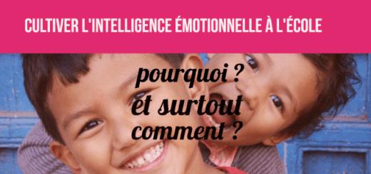 intelligence émotionnelle école