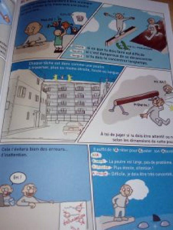 bande dessinée concentration enfant