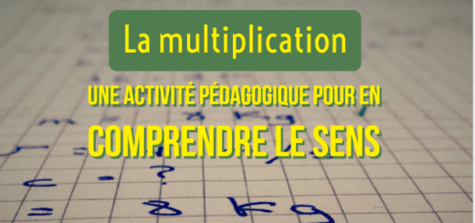 comprendre le sens de la multiplication