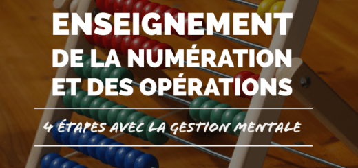 enseigner maths gestion mentale