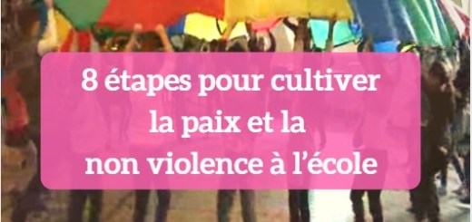 paix et non violence à l'école