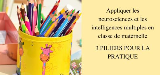 Appliquer les neurosciences et les intelligences multiples en classe de maternelle